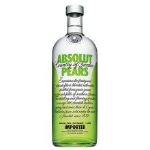 Absolut Vodka Pears Sueca 1L